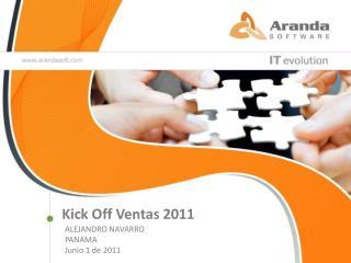 Kick  Off Ventas 2011
