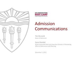 Admission  Communications