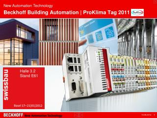 Beckhoff Building  Automation |  ProKlima  Tag 2011