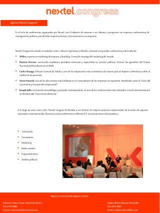 �Qu� es Nextel  Congress?