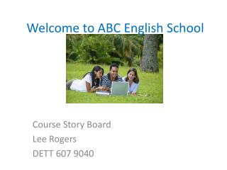 Welcome to ABC English School