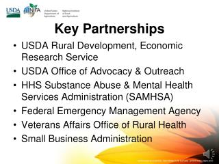 Key Partnerships