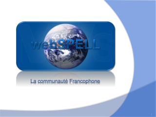 La communauté Francophone