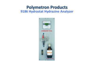 9186 Hydrastat Hydrazine Analyzer