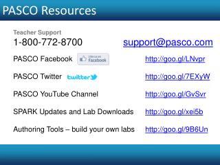 PASCO Resources