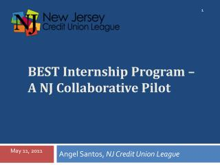 BEST Internship Program –  A NJ Collaborative Pilot