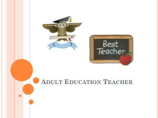 Adult Education Teacher