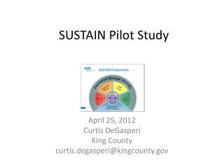 SUSTAIN Pilot Study