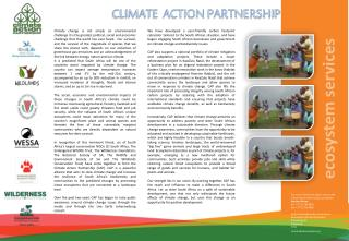 For more information please contact the  Climate Action Partnership coordinator Sarshen Marais