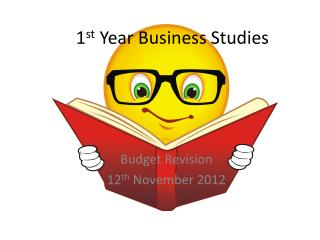 1 st  Year Business Studies