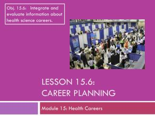 Lesson  15.6: Career Planning