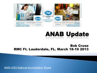ANAB Update
