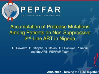 Accumulation of Protease Mutations Among Patients on Non-Suppressive  2 nd -Line  ART in Nigeria