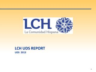 LCH UDS REPORT UDS  2013
