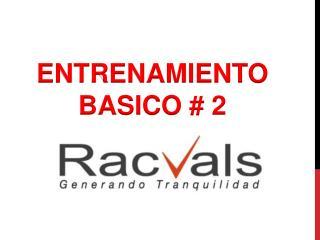ENTRENAMIENTO  BASICO # 2