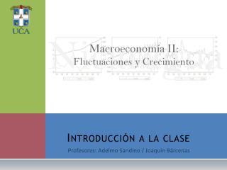 Introducción a la clase
