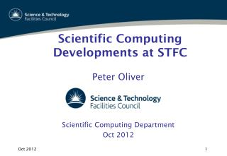 Scientific Computing Developments at STFC