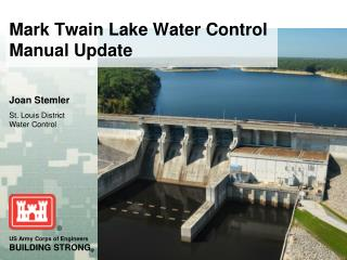 Mark Twain Lake Water Control Manual Update