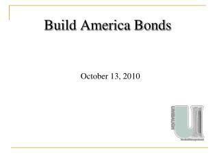 Build America Bonds