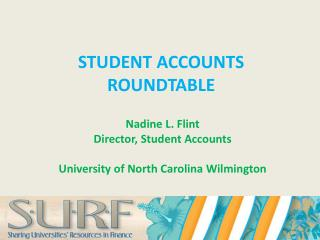STUDENT ACCOUNTS ROUNDTABLE