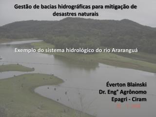 Gestão de bacias hidrográficas para mitigação de desastres naturais