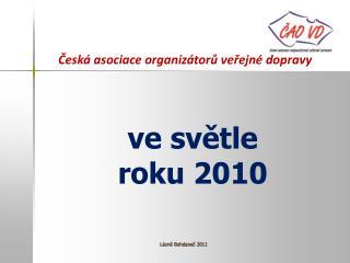 Česká asociace organizátorů veřejné dopravy