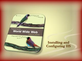 Installing and Configuring IIS