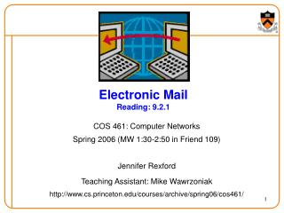 Electronic Mail Reading: 9.2.1