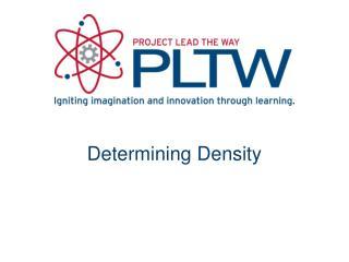 Determining Density