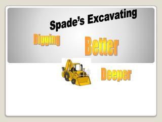 Spade's Excavating