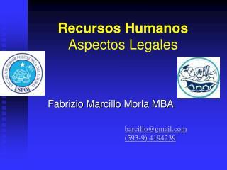 Recursos Humanos Aspectos Legales