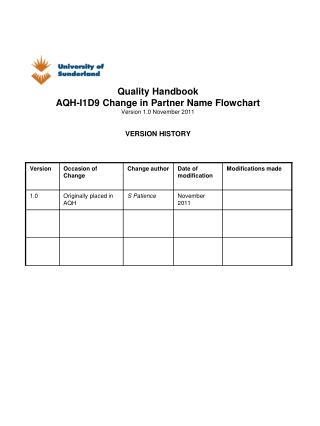 Section D: Changes  to   partnership arrangements 9 . Change to Partner Name