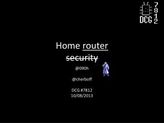 Home  router security