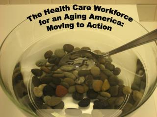 The Health Care Workforce  for an Aging America: Moving to Action