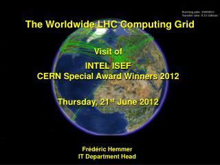 The Worldwide LHC Computing Grid