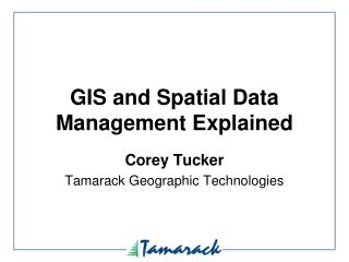 GIS and Spatial Data Management Explained