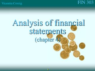 Analysis of financial statements (chapter 4)