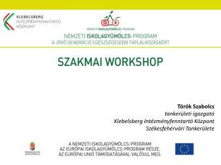Török Szabolcs tankerületi igazgató Klebelsberg Intézményfenntartó Központ