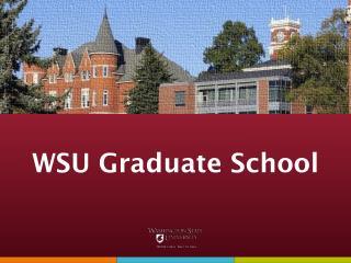 WSU Graduate School