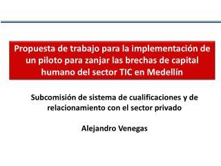 Subcomisión de sistema de cualificaciones y de relacionamiento con el sector  privado