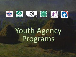 Youth Agency Programs