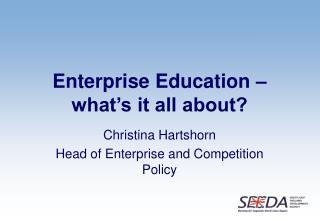 Enterprise Education   what s it all about