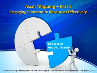 Asset Mapping – Part 2  Engaging Community Resources Effectively