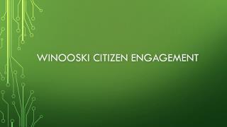Winooski citizen engagement