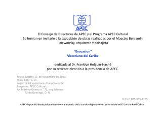 Fecha: Martes 12  de noviembre de 2013. Hora: 8:00  p.  m.
