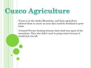 Cuz co Agriculture