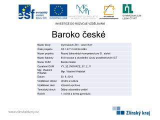 Baroko české