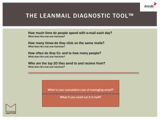The  leanmail Diagnostic Tool™