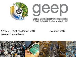 Tel�fonos: 2573-7940/ 2573-7941                         Fax: 2573-7942  geepglobal