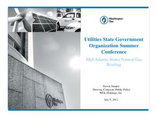 Utilities State Government Organization Summer Conference